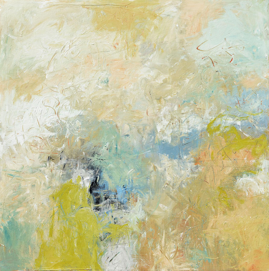 Abstract Painting - Coastal View by Filomena Booth