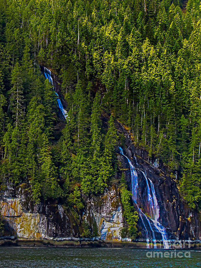 Waterfall Photograph - Coastal Waterfall by Robert Bales