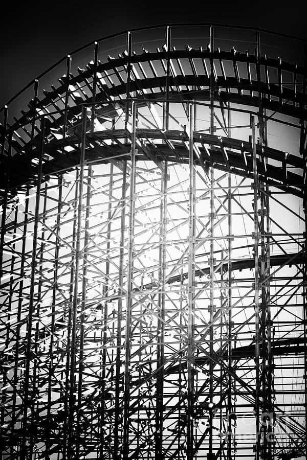 Roller Coaster Photograph - Coaster Light by John Rizzuto