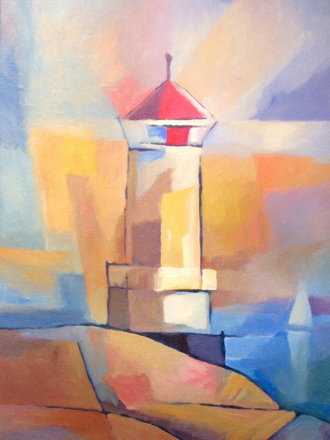 Coastguard Painting - Coastguard by Lutz Baar