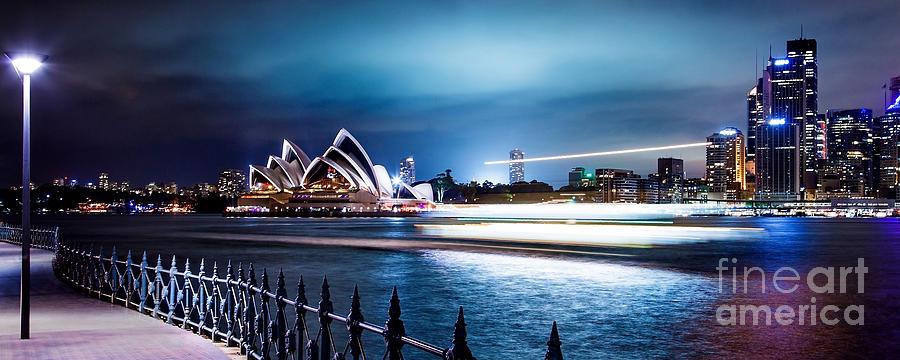 Sydney Photograph - Coasting On The Harbour by Az Jackson