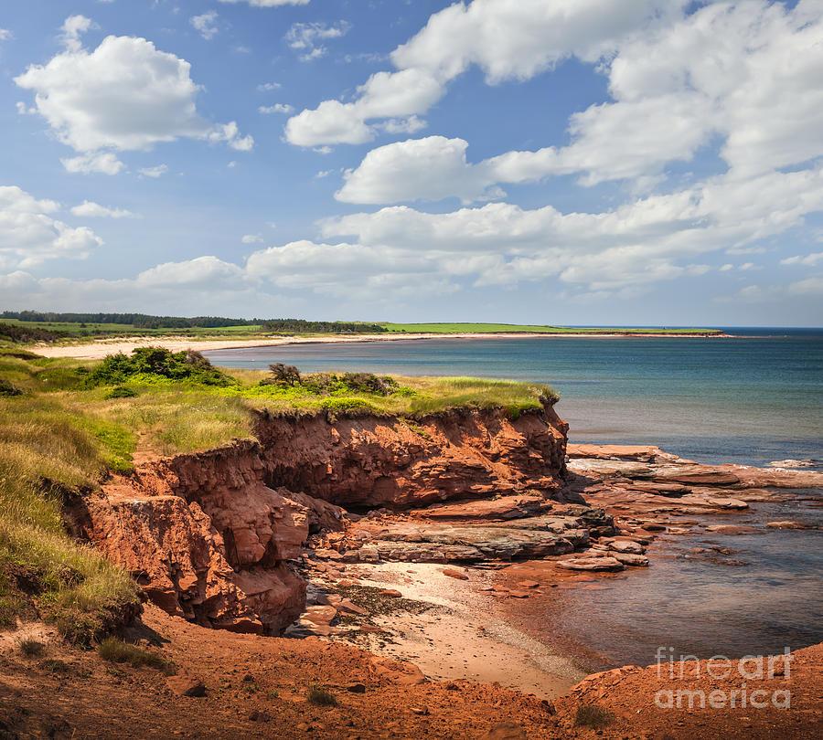 Coast Photograph - Coastline At East Point  by Elena Elisseeva