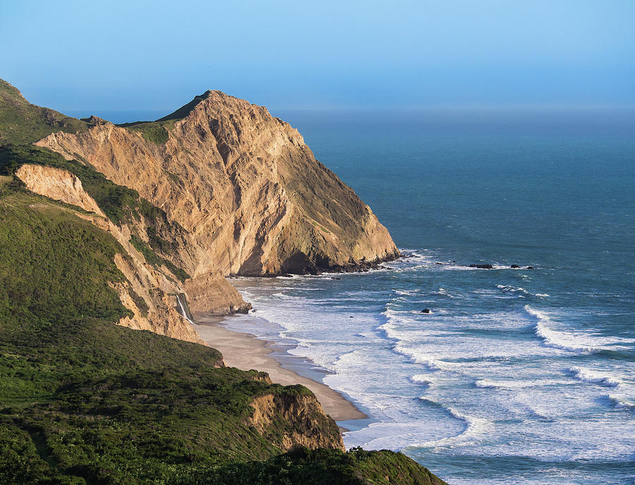Beach Photograph - Coastline At Point Reyes National Sea by Josh Miller Photography