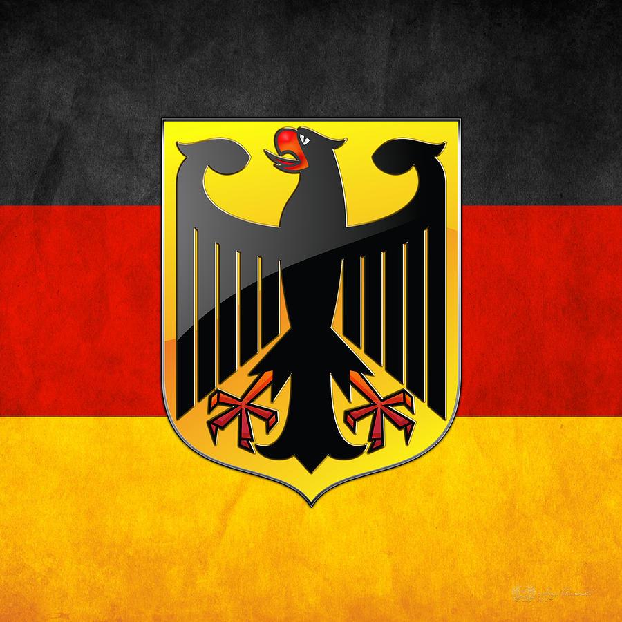 картинки с немецким флагом и гербом увеличении какого-то