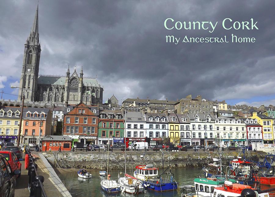 Cobh Photograph - Cobh County Cork by Your Irish Heritage