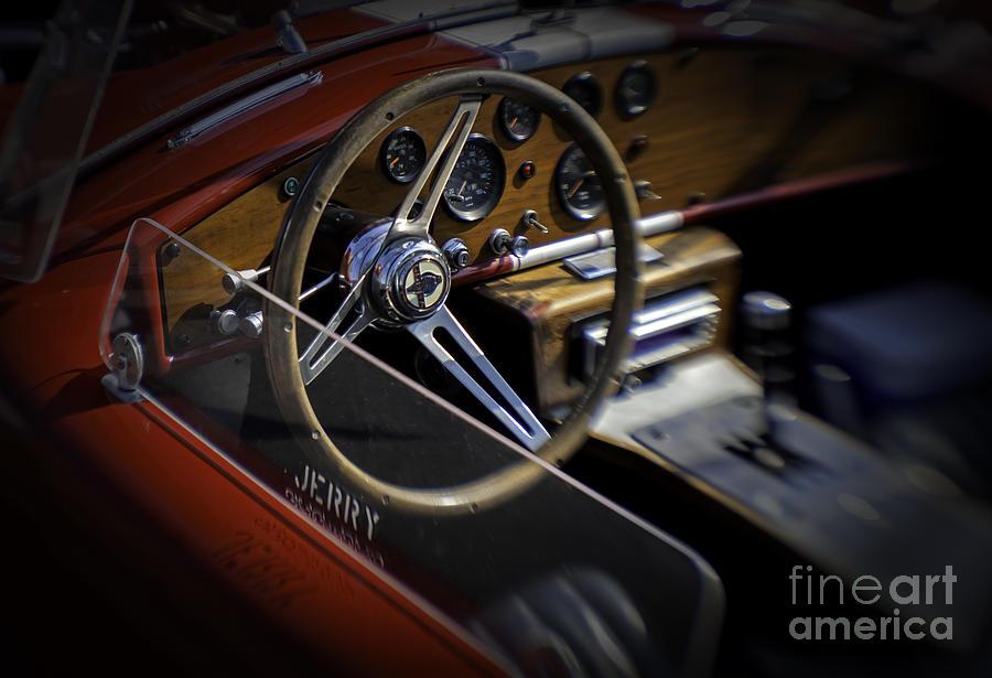 Black Top Photograph - Cobra by Fred Lassmann