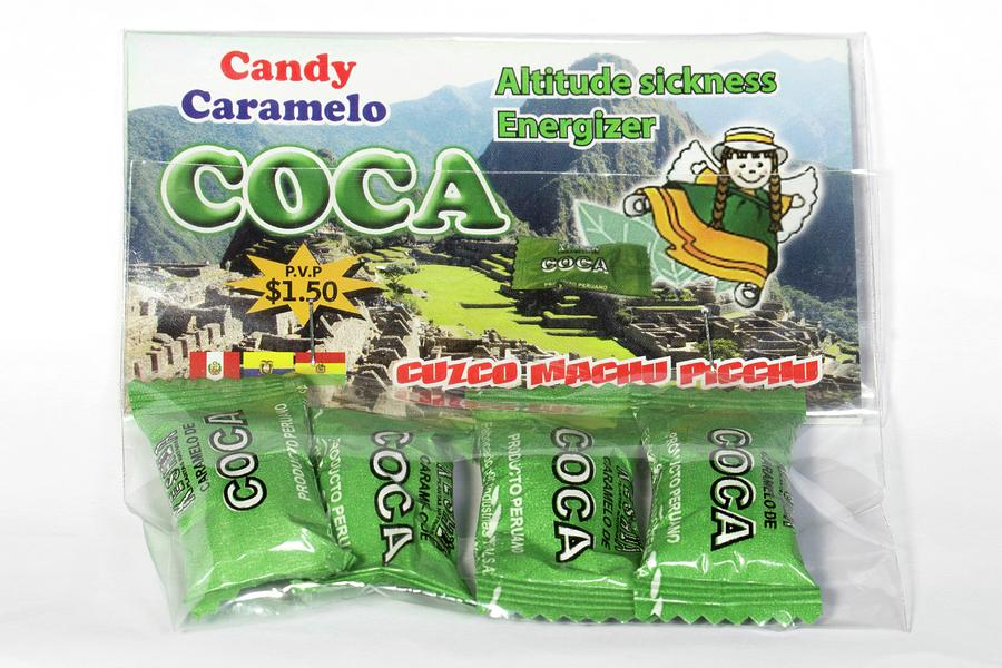 Coca Photograph - Coca Candies From Peru by Dr Morley Read