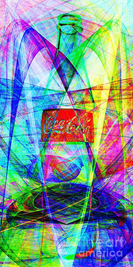 Coke Bottle Photograph - Coca Cola Bottle 20130621di Long by Wingsdomain Art and Photography