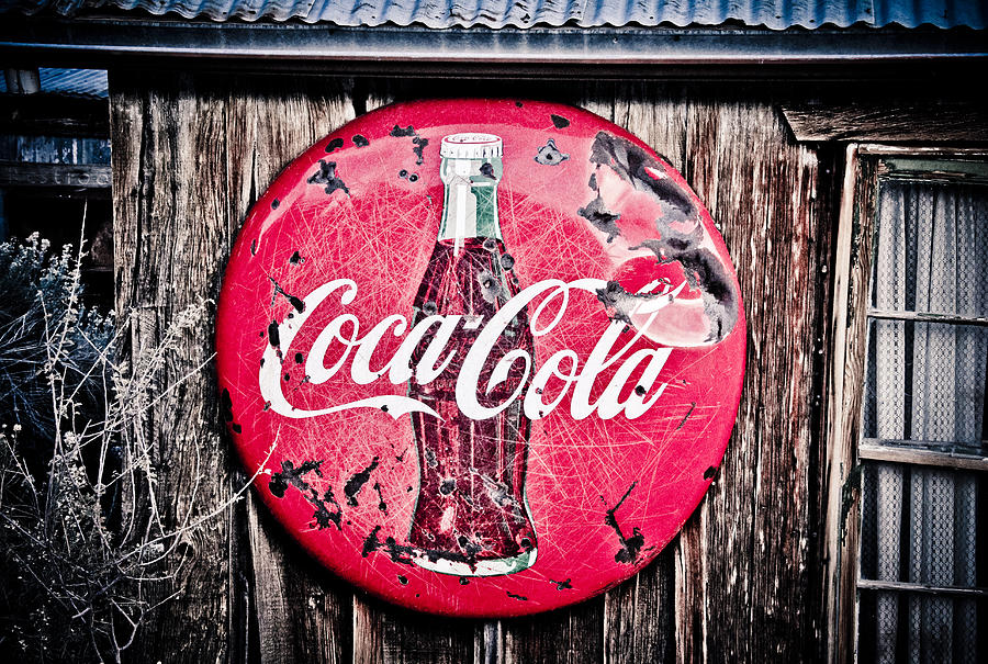 Coke Photograph - Coca Cola by Merrick Imagery