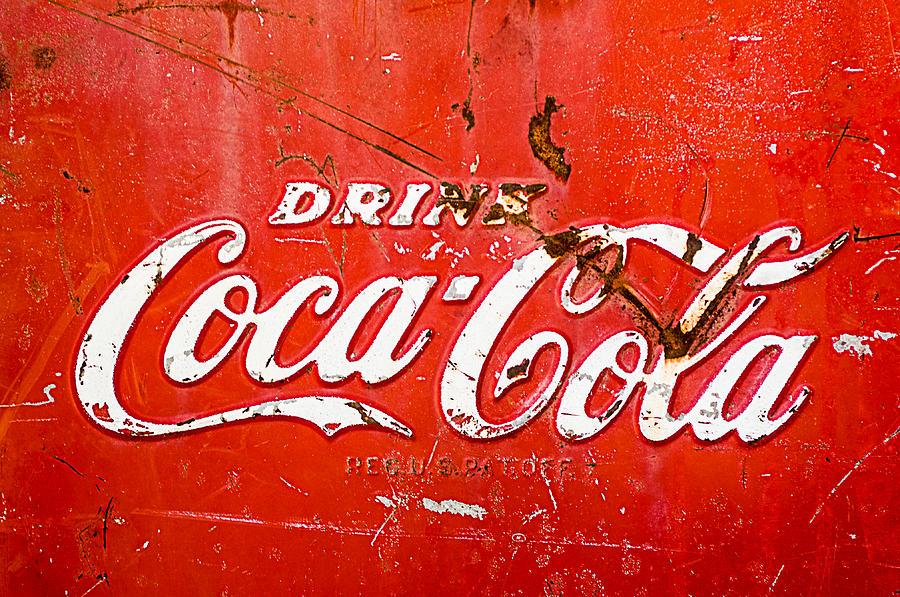 Coke Photograph - Coca-cola Sign by Jill Reger