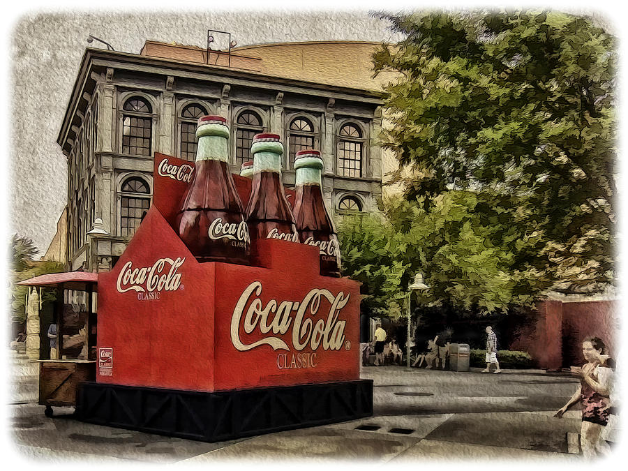 Coke Photograph - Coca-cola by Wayne Gill