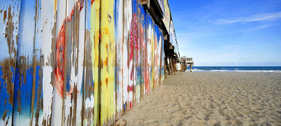 Landscape Photograph - Cocoa Beach Pier Pano by David Lee Thompson