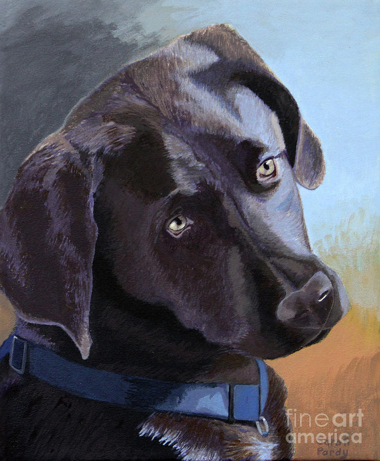 Cocos Portrait Painting by Margaret Sarah Pardy