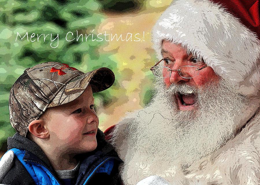 Cody Santa Text 20583 Pe Photograph