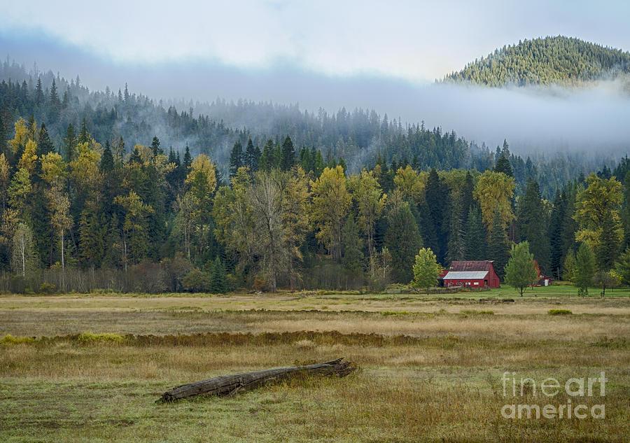Idaho Panhandle Photograph - Coeur D Alene River Farm by Idaho Scenic Images Linda Lantzy