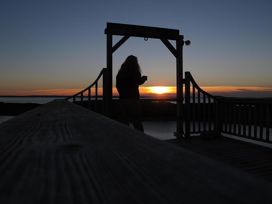 Coffe At Sunrise Photograph
