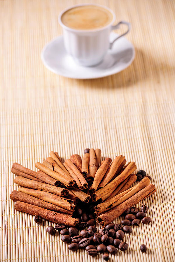 Coffee And Cinnamon Photograph by Stock colors