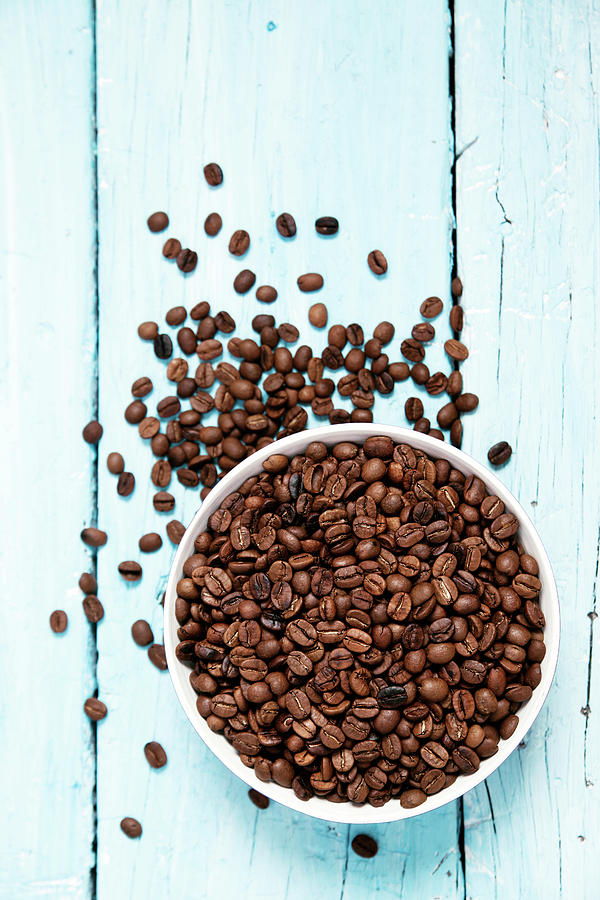 Coffee Beans Photograph by Barcin
