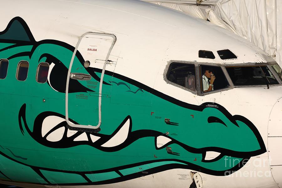 Aircraft Photograph - Coffee Break by James Brunker
