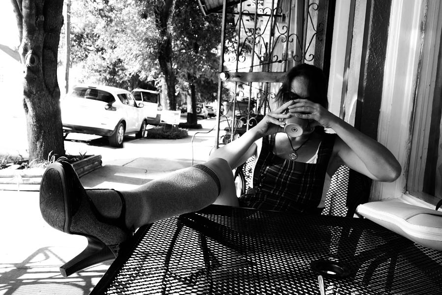 Coffee Photograph - Coffee Break New Orleans Style by Louis Maistros