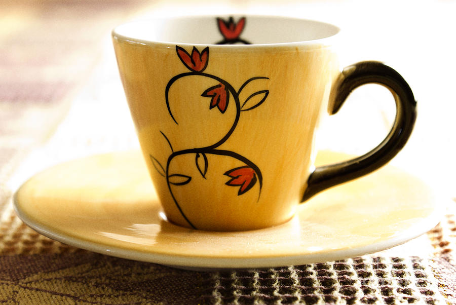 Coffee Photograph - Coffee Cup by Blink Images