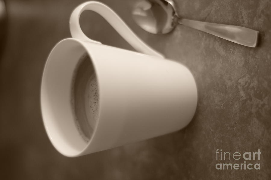 Coffee Table Digital Art - Coffee Cup by Bobby Mandal