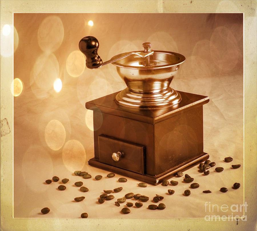 Coffee Grinder Photograph - Coffee Grinder 2 by Donald Davis