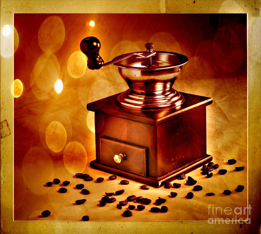 Coffee Grinder Photograph - Coffee Grinder 3 by Donald Davis