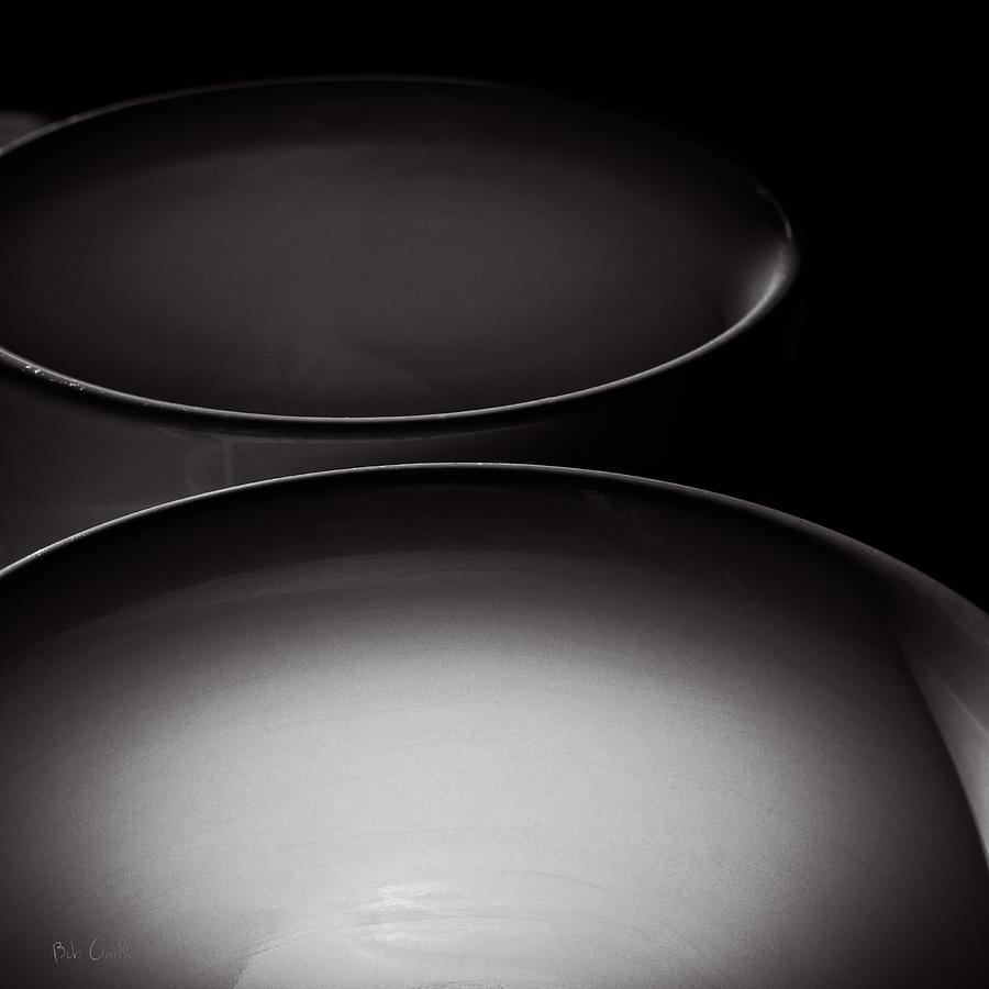 Abstract Photograph - Coffee Mugs by Bob Orsillo