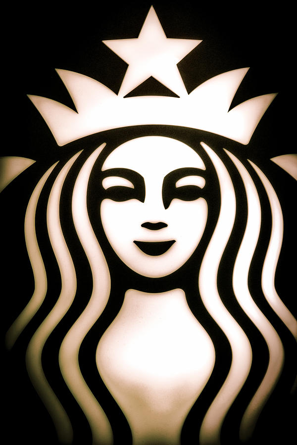 Starbucks Photograph - Coffee Queen by Spencer McDonald