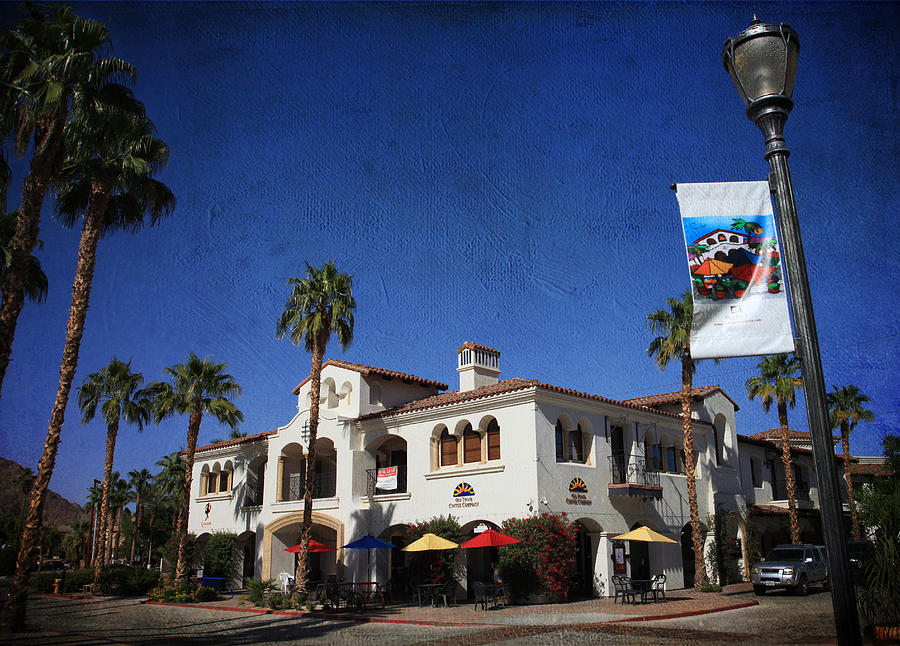 La Quinta Photograph - Coffee Spot by Laurie Search