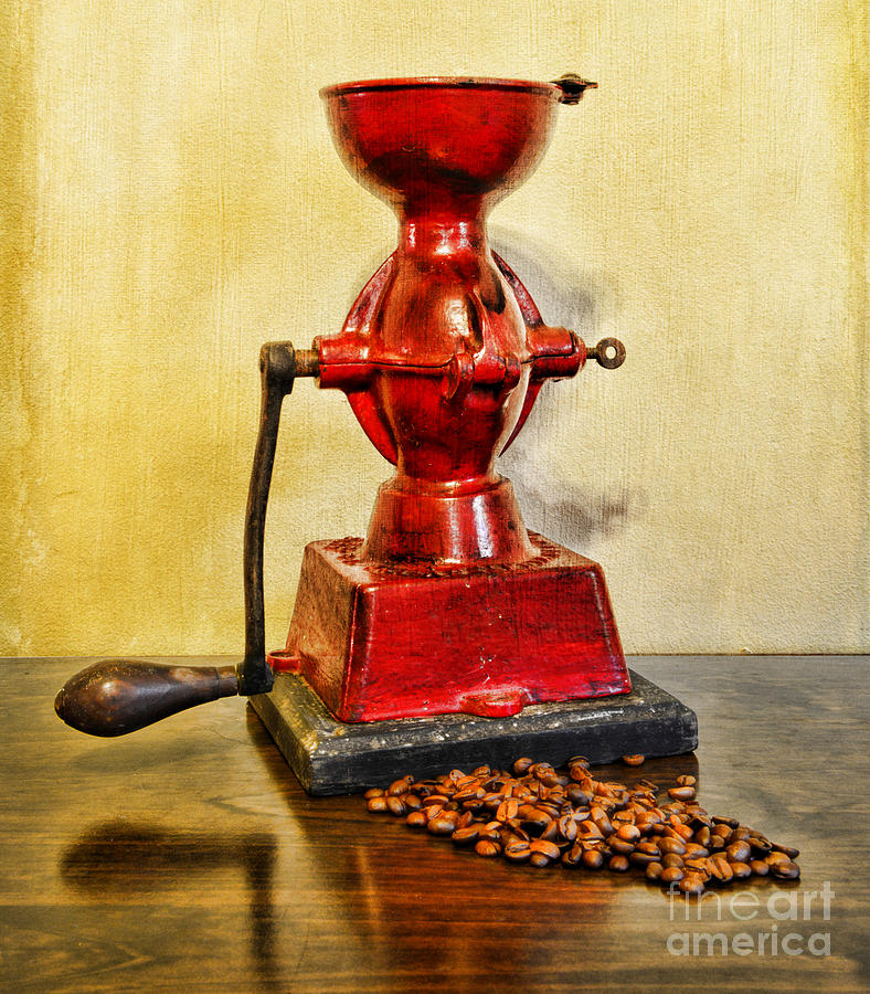Paul Ward Photograph - Coffee The Morning Grind by Paul Ward