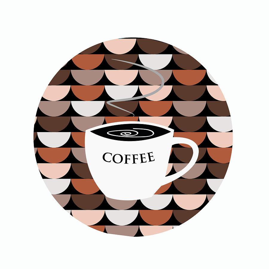 Coffee Digital Art - Coffee Time by Kenneth Feliciano