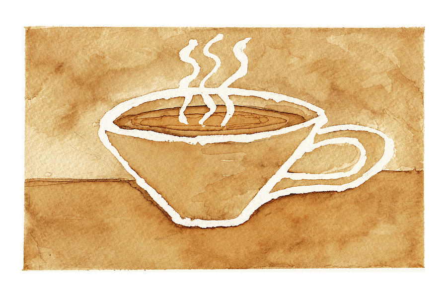 Coffee Painting - Coffee by Tricia Griffith