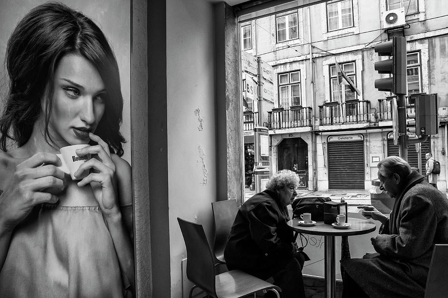 Coffee Photograph - Coffeea?s Conversations by Luis Sarmento
