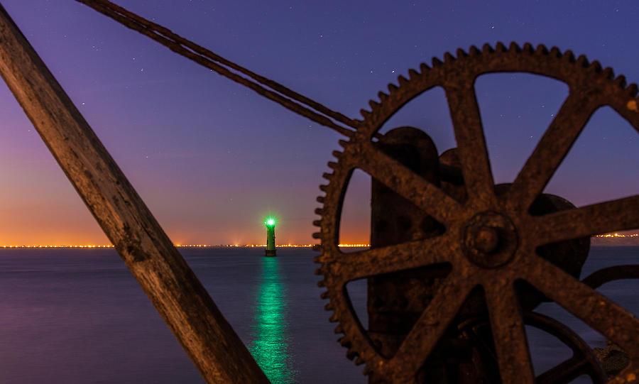 Arm Photograph - Cogwheel Framing by Semmick Photo