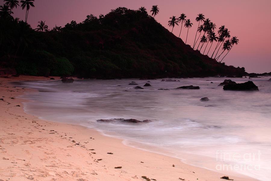 Arabian Sea Photograph - Cola Beach Sunset by Deborah Benbrook