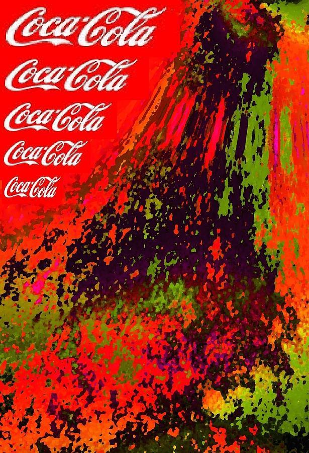 Cola-cola Mixed Media