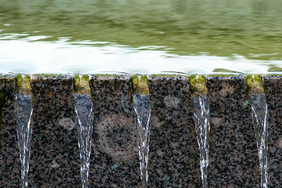 Abstract Photograph - Cold And Clear Water - Featured 3 by Alexander Senin