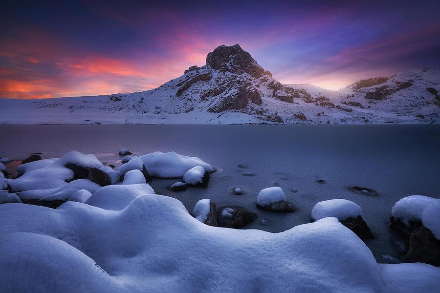 Cold Dawn Photograph by Carlos F. Turienzo