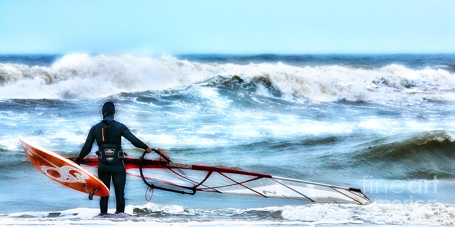 Outer Banks  - Cold Feet - Stormy Seas - Outer Banks by Dan Carmichael