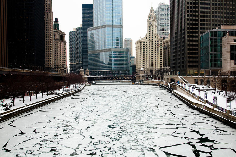 Chicago Photograph - Cold In Color by Joanna Madloch