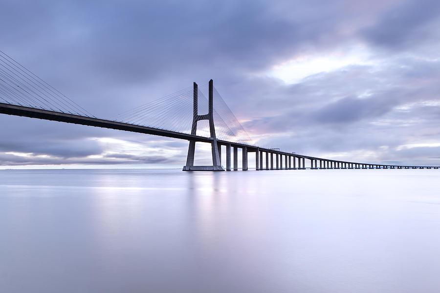 Lisbon Photograph - Cold by Jorge Maia