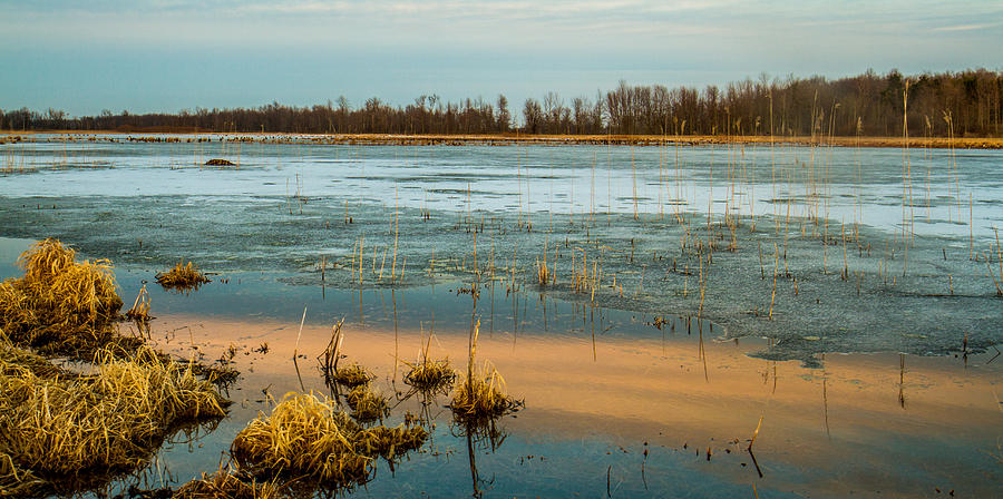 Landscape Photograph - Cold Lake by Bruno Santos