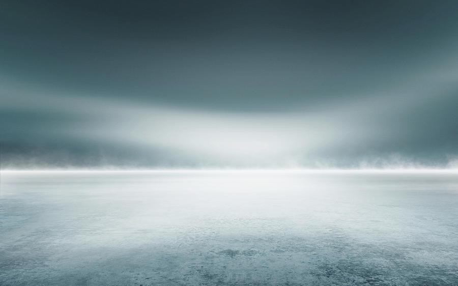 Cold Studio Background Digital Art by Aaron Foster