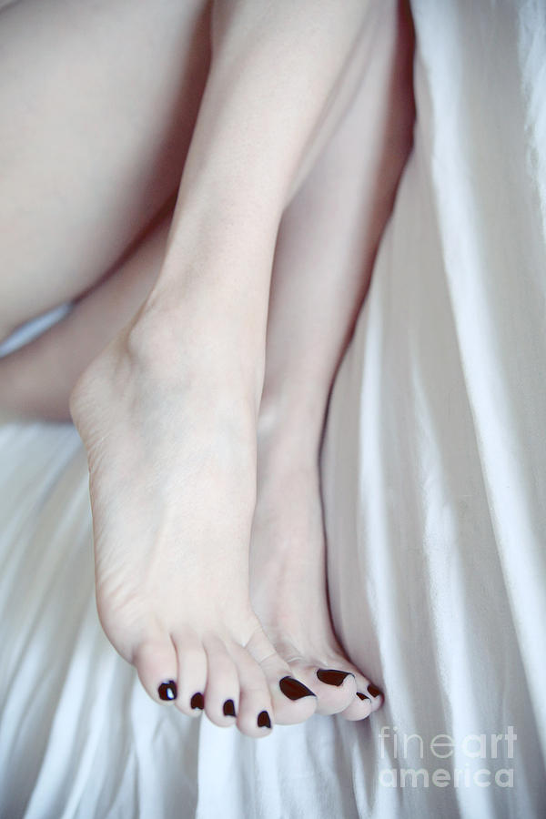 Feet Photograph - Cold by Tos Photos