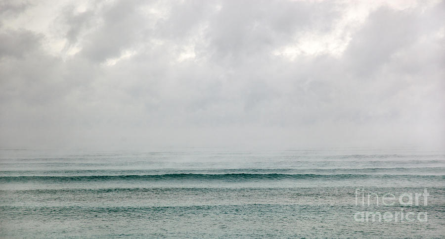 Ocean Photograph - Cold Wave IIi by Michelle Constantine