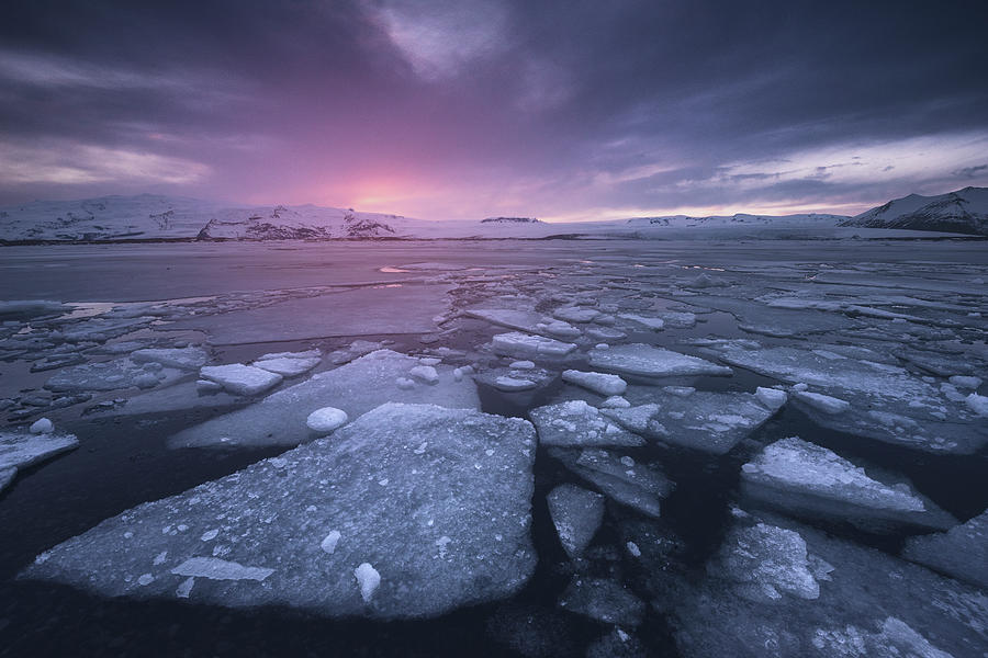 Cold World Photograph by Carlos F. Turienzo