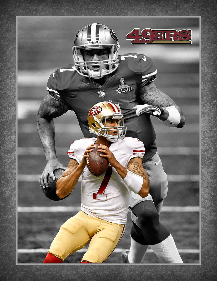 Colin Kaepernick Photograph - Colin Kaepernick 49ers by Joe Hamilton