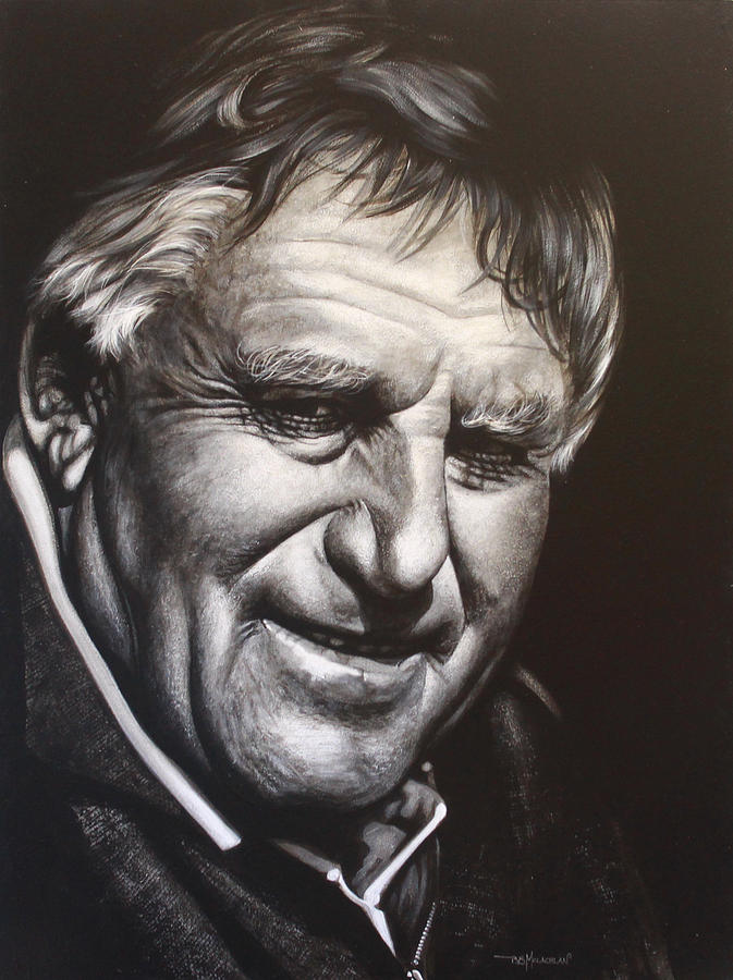 Sir Colin Meads Painting - Colin Meads by Bruce McLachlan